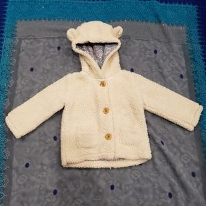 Mini Boden Bear Jacket size 12-18M